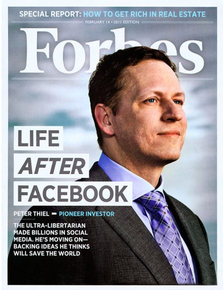 Peter Thiel - Forbes Cover Story